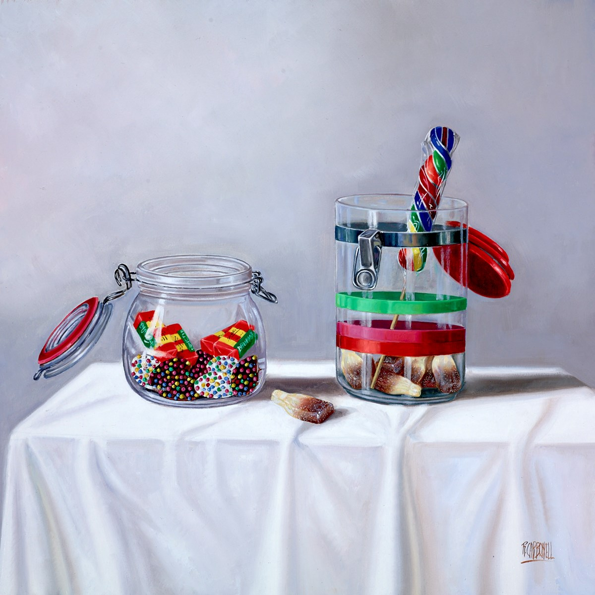 El Piruli II by raquel carbonell -  sized 20x20 inches. Available from Whitewall Galleries